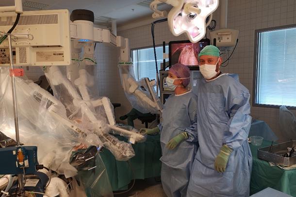 Åpen dag om robotkirurgi