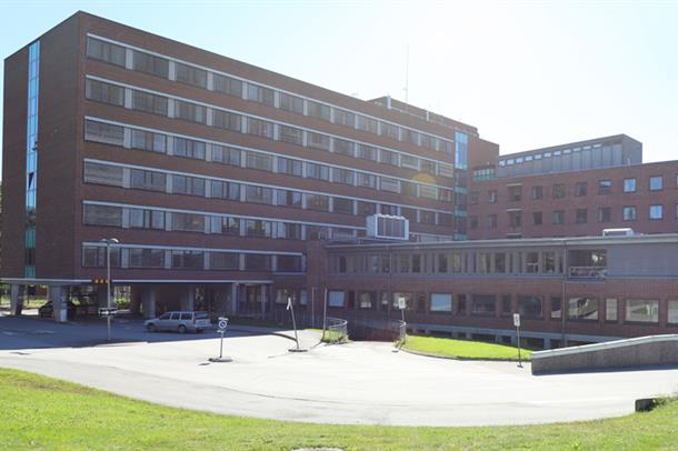 Kongsvinger sykehus fremside