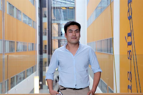 Evandro Fei Fang tildeles Det Kongelige Norske Vitenskapers Selskabs vitenskapelige pris til yngre forskere