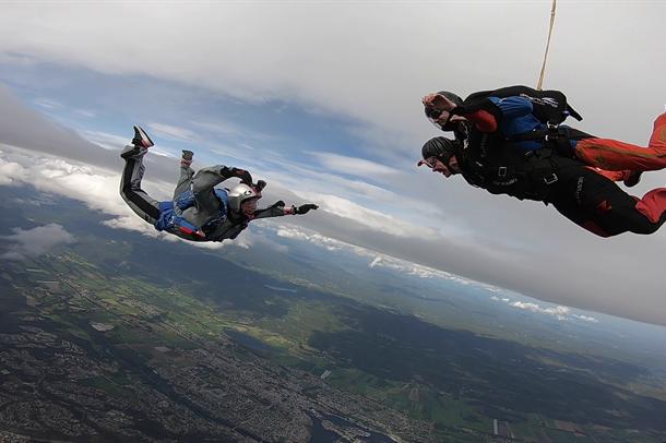 NCP fallskjermhopp